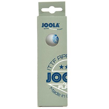 优拉JOOLA 40+无缝新材料三星乒乓球(3只装)新材料 无缝塑料球