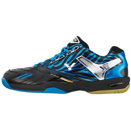 victor胜利sh-s80sd-f羽毛球鞋黑蓝色