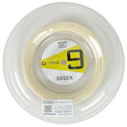 高神G-TONE9(钢甲9号)大盘羽毛球线(集80P与BG99精髓于一身的神线)