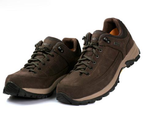 OUNCE遨游仕L2-PTX 男士低帮登山鞋徒步鞋 咖啡色