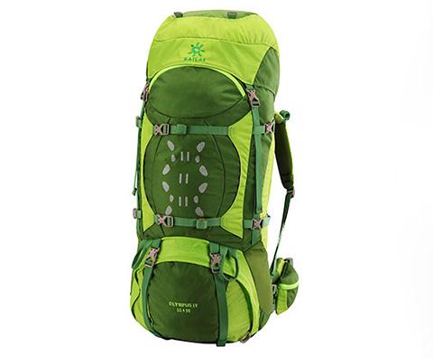 凯乐石Kailas奥林匹斯Ⅳ65+10L专业登山包KA20001柠绿色