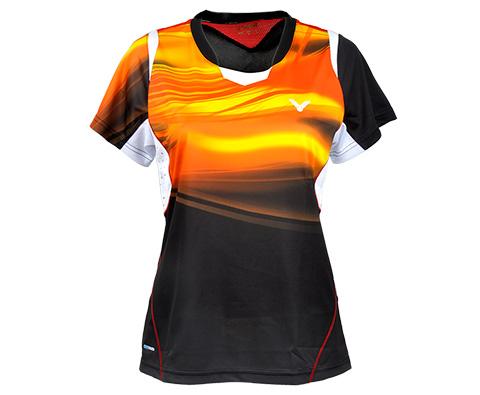 VICTOR胜利T-5100C女款羽毛球服(韩国国家队大赛队服)