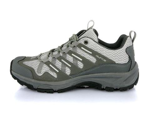 遨游仕OUNCE男女款低帮徒步鞋/登山鞋R302灰色(3D气孔呼吸技术,超轻超透气)