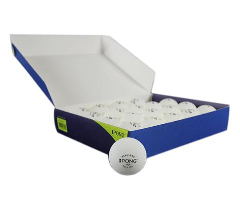 iPong新材料无缝乒乓球(发球机专用)