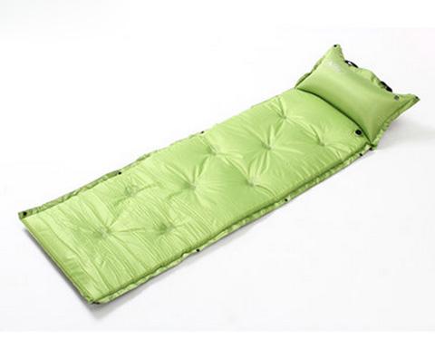牧高笛互拼式自充垫/防潮垫(水瓶)MF092004嫩绿色(双气嘴,快速充气)
