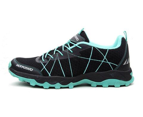 户外特工男款徒步鞋/登山鞋HP9006黑色(超轻透气,适合各种路面)