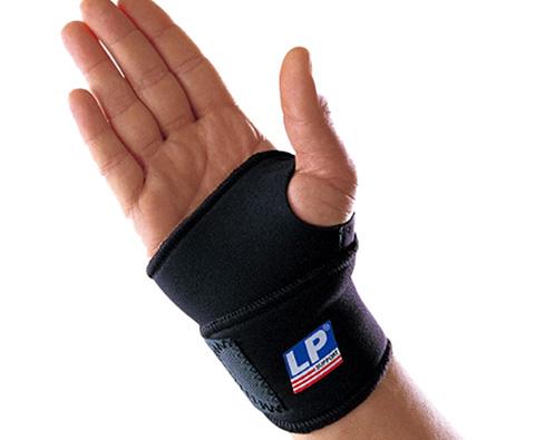 LP欧比 单片式腕关节缠绕护套(缠绕护腕) LP726 腕关节扭伤及加强防护
