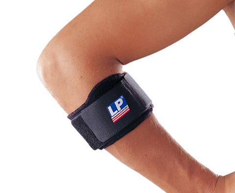 LP欧比 LP751 网球肘护具 三角垫片局部加压肘束带(护肘束带)