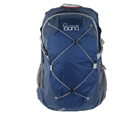 IDAND艾丹28L超轻城市多功能旅行背包 藏青色(轻量的户外旅行背包)