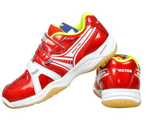 Victor胜利SHC03D儿童款羽毛球鞋(超强透气,孩子的超佳选择)