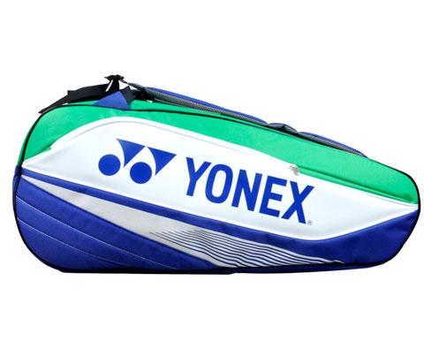 YONEX尤尼克斯BAG7526EX-171六支装蓝绿色羽毛球包(团队战包)