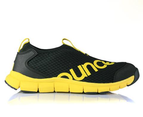 遨游仕OUNCE超轻透气漫步休闲鞋G1Ⅱ黑黄色