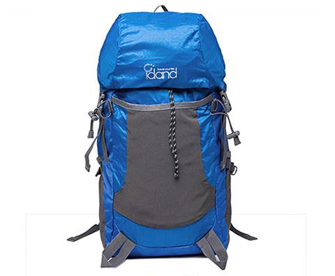 IDAND艾丹35L双肩折叠包 ID80142U 蓝色