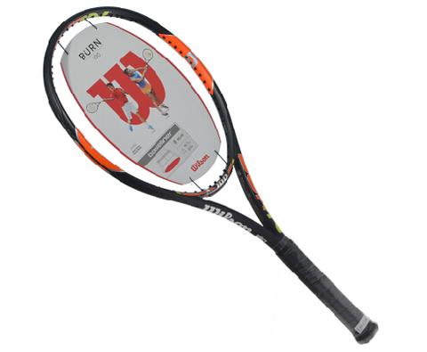 Wilson维尔胜(WRT72701U2) Burn 100 网球拍 锦织圭、哈勒普冠军战拍