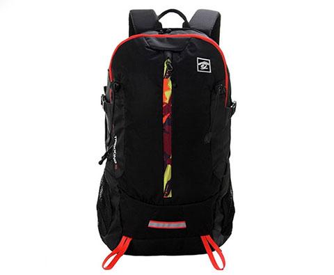 探路者30L旅行双肩背包 TEBC90604 黑色