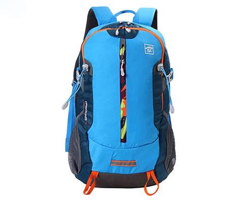 探路者30L旅行双肩背包 TEBC90604 湖蓝色