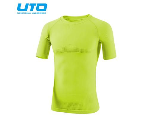 悠途UTO (954101)超能运动T恤 荧光绿