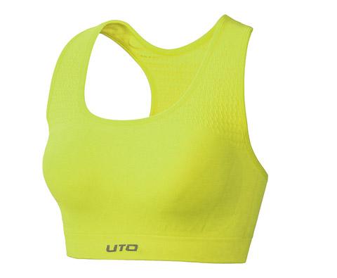 悠途UTO(954203)专业跑步文胸 荧光绿