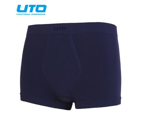 悠途UTO (952101)tactel速干男式平角裤两条装 藏蓝色