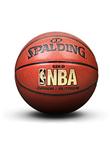 斯伯丁NBA金色经典软PU室内室外两用篮球 Spalding篮球 (74-606Y)