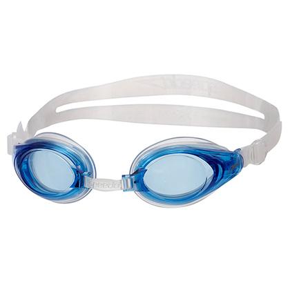 Speedo速比涛近视游泳眼镜31300564湖水蓝色(近视泳者必备之神器)
