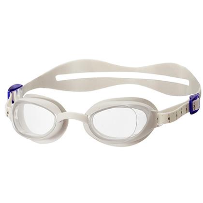 Speedo速比涛女款平光游泳眼镜51320200白色(专为女性定制,关怀之选)