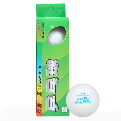 双鱼 二星乒乓球(3只装)