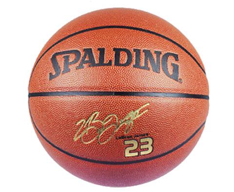 斯伯丁詹姆斯签名篮球Spalding篮球 (74-644Y ) 2015年詹皇回归骑士