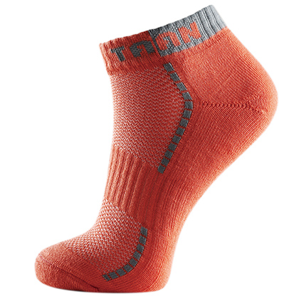 TAAN泰昂T-333(T333)男款橙色羽毛球船袜(透气排湿,吸汗抗菌!)