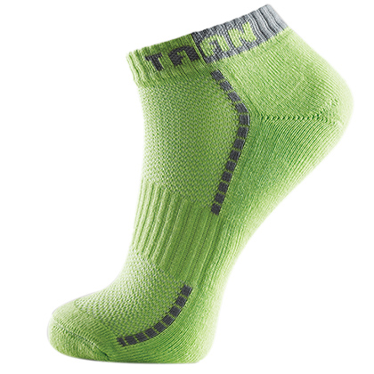 TAAN泰昂T-333(T333)男款绿色羽毛球船袜(透气排湿,吸汗抗菌!)