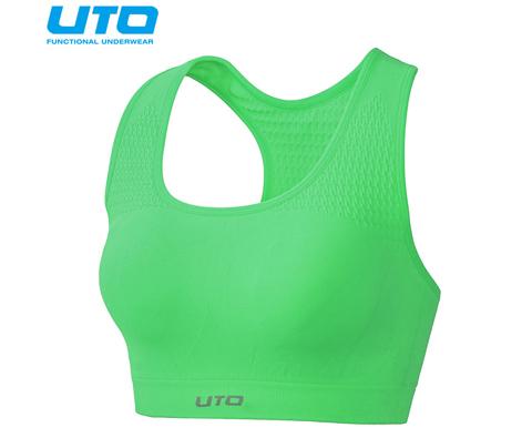 悠途UTO(954203)专业跑步文胸 霓虹绿