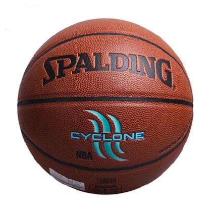 斯伯丁街头系列室内室外两用篮球 Spalding CYCLONE篮球(74-414)飓风