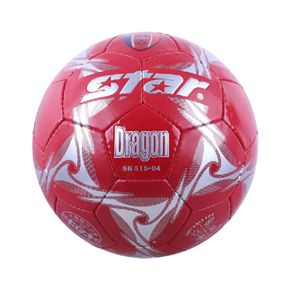 世达足球(SB515-04 )手缝高级PU比赛用球 烈火红唇耐磨5号球