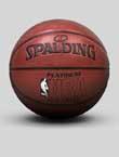 斯伯丁 NBA 铂金系列篮球 Spalding篮球 74-605Y