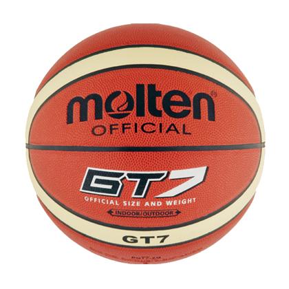 摩腾BGT7室内/室外两用篮球 Molten篮球7号球 入门级训练、比赛篮球
