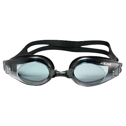 捷佳AH104黑色平光泳镜(超强防雾,初级性价比之选!)
