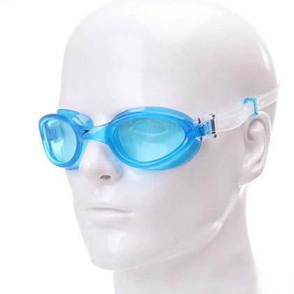 Speedo速比涛31301164湖水蓝基础泳镜(佩戴舒适,经久耐用,入门优选)