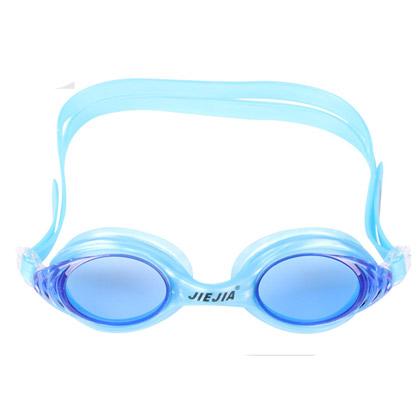 捷佳J2548多配色平光泳镜(高清防雾防渗,初级游泳必备,超高性价比)
