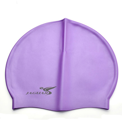 捷佳SC309紫色硅胶泳帽(SC系列泳帽,纯色经典,超低价格,游泳必备单品)