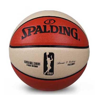 斯伯丁Spalding WNBA比赛球复刻版 Spalding篮球 74-572Y WNBA球迷专享