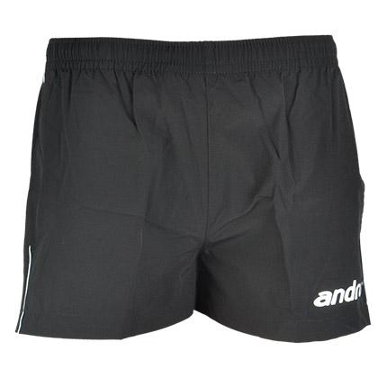 岸度andro 312012 黑色乒乓短裤