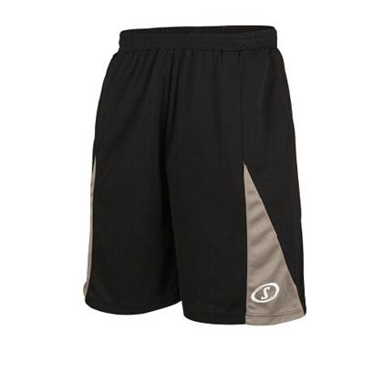斯伯丁Spalding20024-01黑色篮球短裤(超轻面料,吸汗清爽,实战经典)