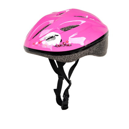 滑启TK-LDXK新款粉红色灵动系列儿童轮滑头盔(头围48-54)