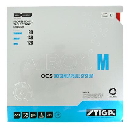 斯帝卡STIGA AIROC-M 氧气单元 乒乓蓝海绵反胶套胶