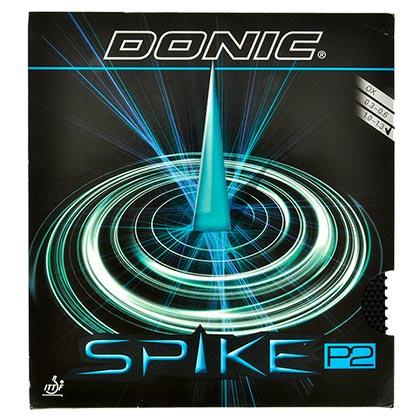 多尼克DONIC 尖刺SPIKE P2乒乓球长胶套胶