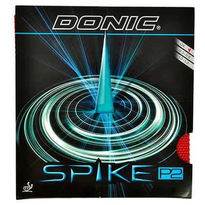 多尼克DONIC 尖刺SPIKE P2乒乓球长胶单胶皮