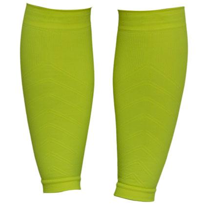 悠途UTO(955003)跑步小腿套 荧光绿 运动护腿套