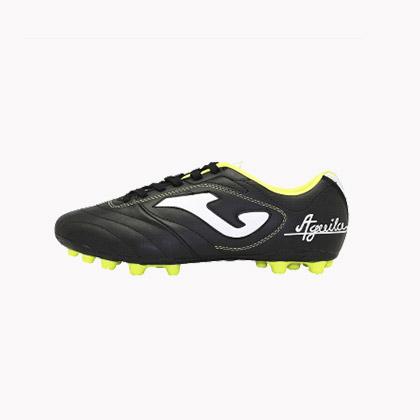 Joma骄马AG短钉男子足球鞋黑色(AGOLW.301.PA,耐磨,适合人工草地训练)