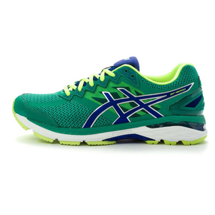 爱世克斯 ASICS亚瑟士 GT-2000 4 男款跑鞋(T606N-8843 灰橄榄绿/湖蓝色)