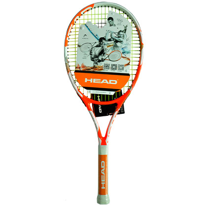 HEAD海德 网球拍 Attitude MX ,大拍面重量轻(货号:H2352042) 荧光橙色,初学首选